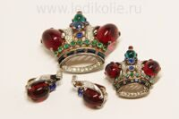 "Сьют ""Trifari"" crown Sterling"